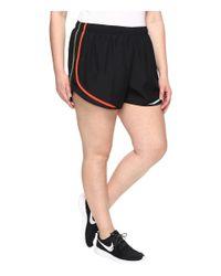 "Nike - Black Dry Tempo 3"" Running Short (size 1x-3x) - Lyst"