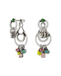 DANNIJO - Metallic Claret Earrings - Lyst
