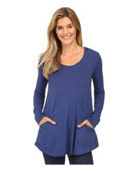 Mod-o-doc - Blue Classic Jersey Hooded Tunic - Lyst