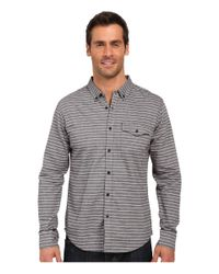 United By Blue - Gray Lockport Button Down for Men - Lyst