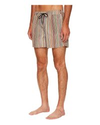 Paul Smith - Multicolor Signature Stripe Classic Swim Shorts for Men - Lyst