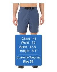 Mountain Khakis - Blue Latitude Belted Short for Men - Lyst