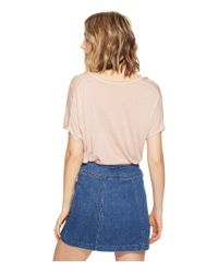 Project Social T - Blue Utility Seam Tee - Lyst
