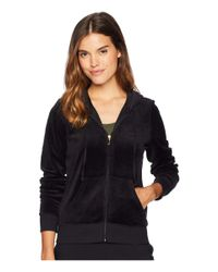 Juicy Couture - Black Track Velour Gothic Crystals Robertson Jacket - Lyst