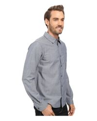 Smartwool - Blue Summit County Chambray Long Sleeve Shirt for Men - Lyst