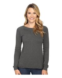 Prana - Gray Natalia Sweater - Lyst