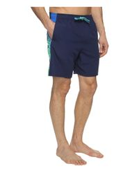 """Nike - Blue Clash 7"""" Volley Shorts for Men - Lyst"""