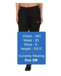 Nike - Black Academy Knit Soccer Pant for Men - Lyst