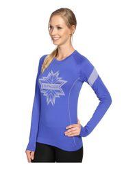 Spyder - Blue Crest Top - Lyst