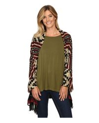 Double D Ranchwear - Green Pampas Plains Wrap/shawl - Lyst