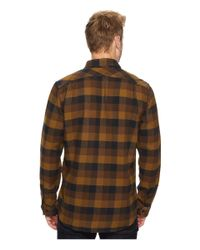 Filson - Brown Vintage Flannel Work Shirt for Men - Lyst
