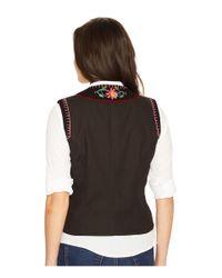 Double D Ranchwear - Black Shadow Catcher Vest - Lyst