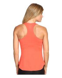 Nike - Orange Court Team Pure Tennis Tank Top (blue Void/white) Women's Sleeveless - Lyst