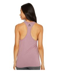 Reebok | Purple Crossfit® Forging Elite Fitness Tank | Lyst