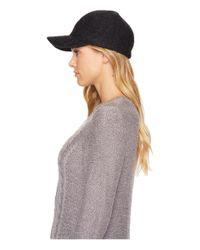 Ugg - Gray Fabric Baseball Hat - Lyst