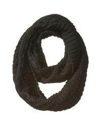 Polo Ralph Lauren - Black Traveling Aran Neck Ring Scarf - Lyst
