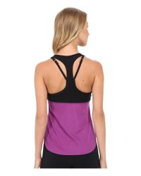 Nike - Purple Court Slam Breathe Tennis Tank Top - Lyst