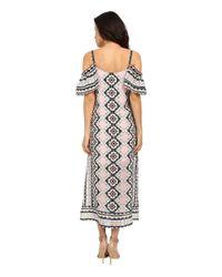 Nanette Lepore - Multicolor Havana Nights Maxi Dress - Lyst