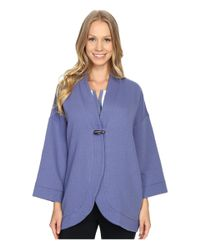 Carole Hochman - Blue Lounge Quilted Wrap - Lyst