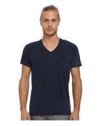 Alternative Apparel - Blue Perfect V-neck for Men - Lyst