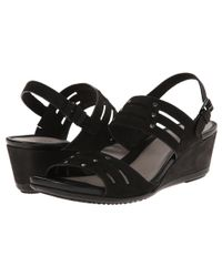 Ecco - Black Touch 45 Wedge - Lyst