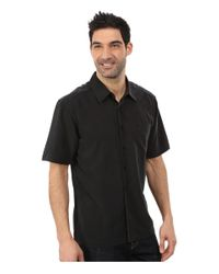 Quiksilver - Black Clear Days 4 Traditional Polynosic Woven Top for Men - Lyst