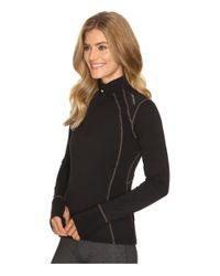 Hot Chillys - Black Wool 8k Zip - Lyst