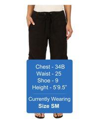 XCVI - Black Monte Carlo Linen Pants - Lyst
