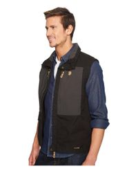 Fjallraven - Black Keb Vest for Men - Lyst
