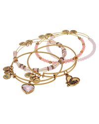 ALEX AND ANI - Metallic Love Is In The Air - Alive With Love Set Of Five - Lyst