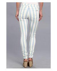 Hudson | Multicolor Krista Super Skinny Stripe In Liberated | Lyst