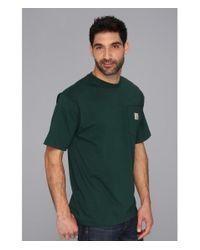 Carhartt | Green Big & Tall Workwear Pocket S/S Tee for Men | Lyst