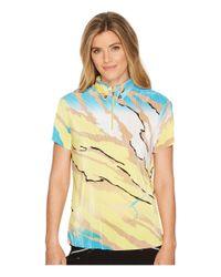 Jamie Sadock - Multicolor Le Tigre Crunchy Textured Short Sleeve Top - Lyst