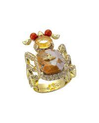 Vivienne Westwood | Metallic Salome Ring | Lyst