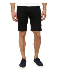 Lacoste - Black Slim Fit Bermuda Short for Men - Lyst