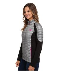 The North Face - Gray Momentum Thermoball™ Hybrid Jacket - Lyst