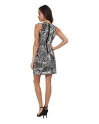 BCBGMAXAZRIA - Black Cassandra Sleeveless A-Line Dress - Lyst