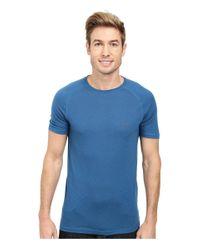 Fjallraven   Blue Abisko Trail T-shirt for Men   Lyst