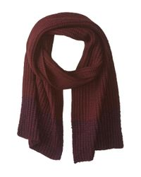 Marc By Marc Jacobs - Brown Patchwork Wool Scarf - Lyst