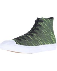 Converse | Green Chuck Taylor® All Star® Ii Knit Hi for Men | Lyst