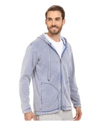 Ugg - Blue Connelly Washed Hoodie for Men - Lyst