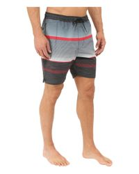 "Billabong - Black Spinner Lay Back Elastic 19"" Boardshorts for Men - Lyst"