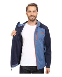 The North Face | Blue Tenacious Hybrid Hoodie for Men | Lyst
