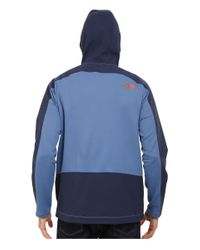 The North Face - Blue Tenacious Hybrid Hoodie for Men - Lyst