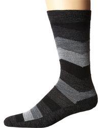 Smartwool - Black Chevron Stripe for Men - Lyst