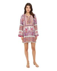 Nanette Lepore - Pink Gypsy Queen Tunic - Lyst
