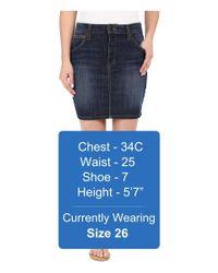 Joe's Jeans - Blue Cool Off Wasteland Skirt - Lyst