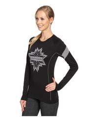 Spyder - Black Crest Top - Lyst