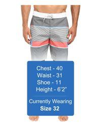 """Billabong - Black Spinner Lo Tides 19"""" Boardshorts for Men - Lyst"""