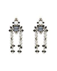 DANNIJO - Metallic Sibiu Earrings - Lyst